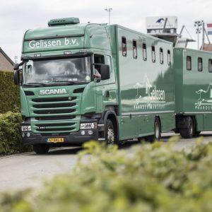 Gelissen Paardentransport Echt 14-05-2017 foto : Wouter Roosenboom